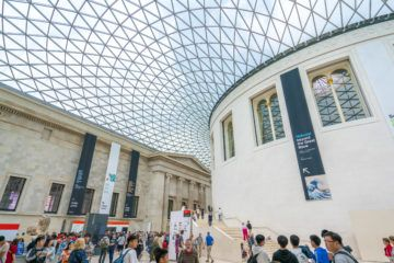 How to make the most of a visit to the British Museum in London with kids.