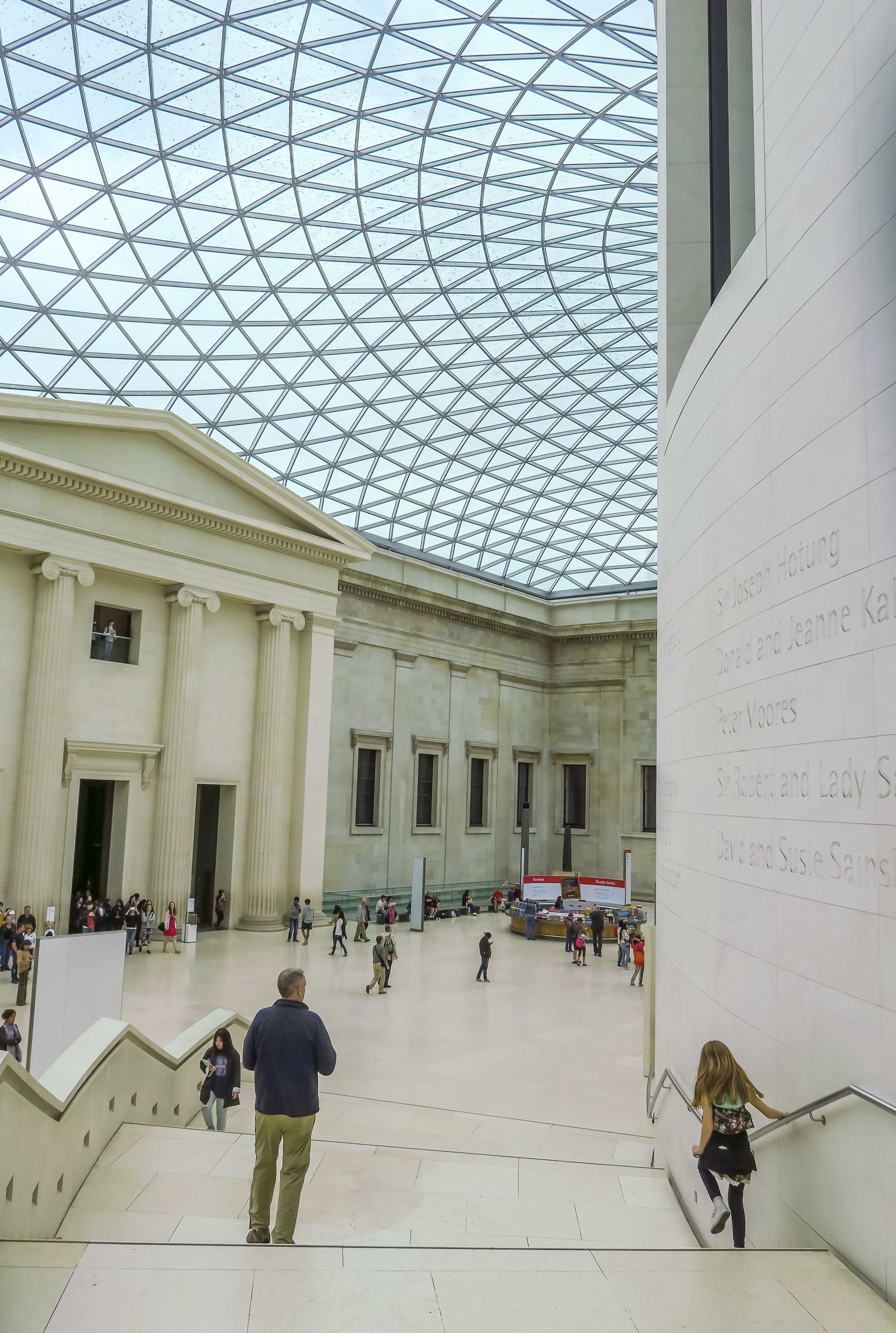 When visiting London with kids the British Museum is a must.