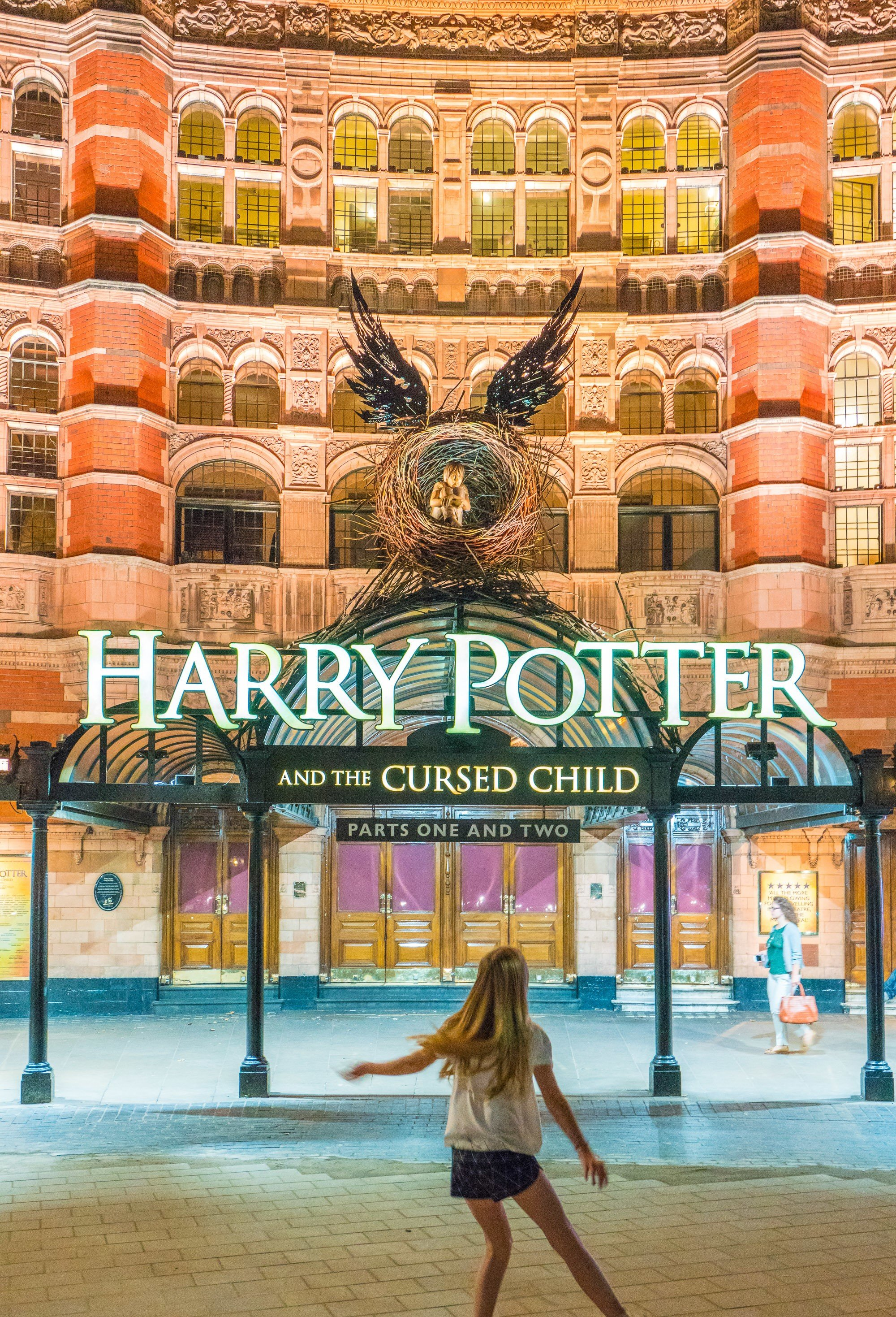 """""""Harry Potter and the Cursed Child"""" is a must see when in London with kids."""