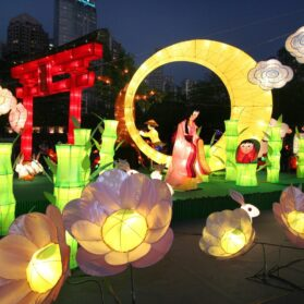 Celebrate Mid-Autumn Festival with Mooncakes and Lanterns