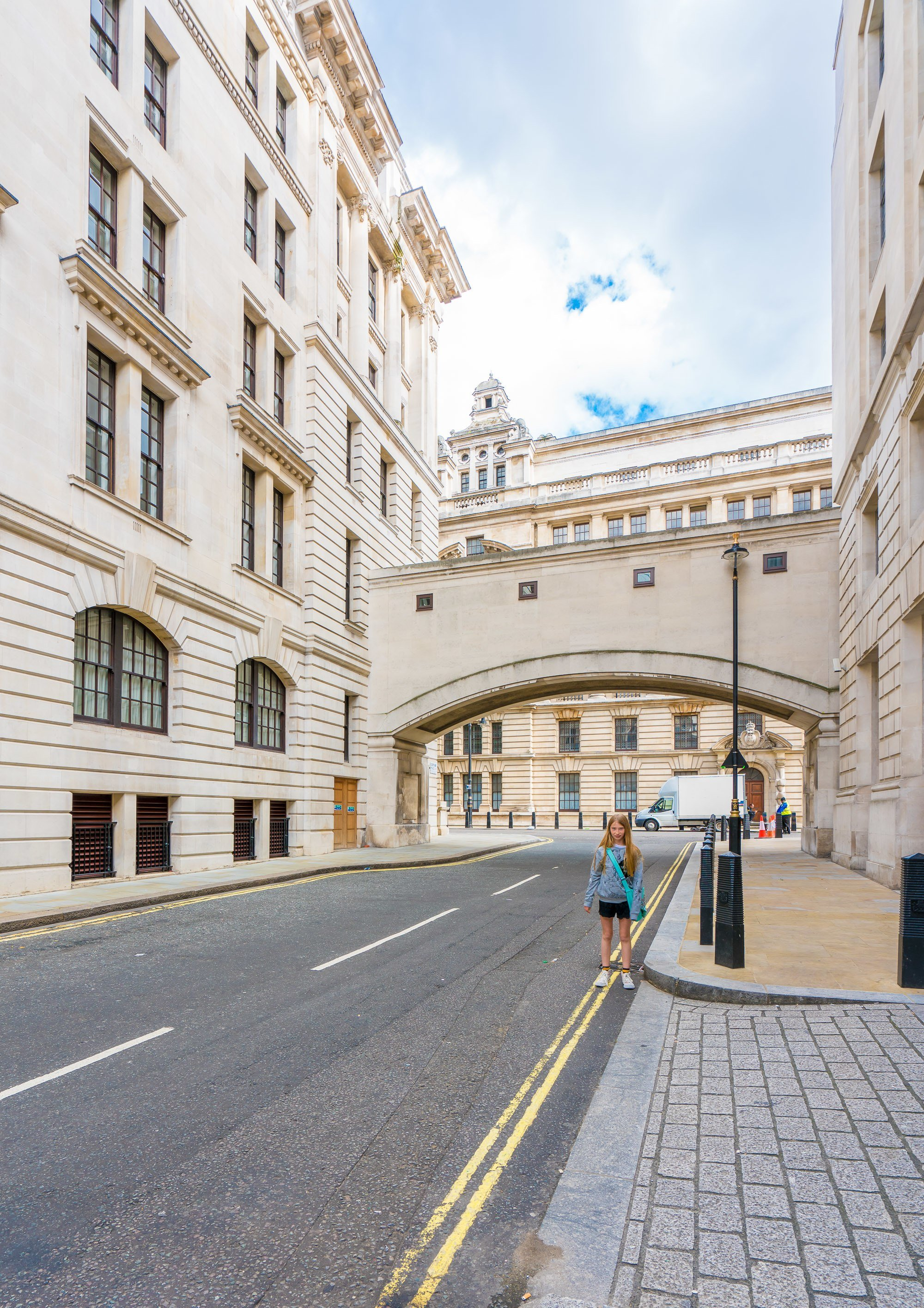 This area of New Scotland Yard in London is the entrance to the Ministry of Magic in the Harry Potter movies.