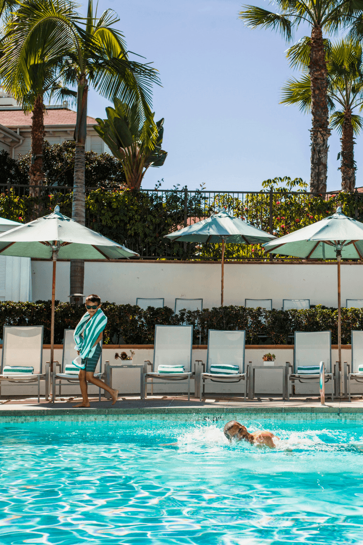 Families stay at Beach Village at The Del in San Diego for luxury, privacy and personalized service.