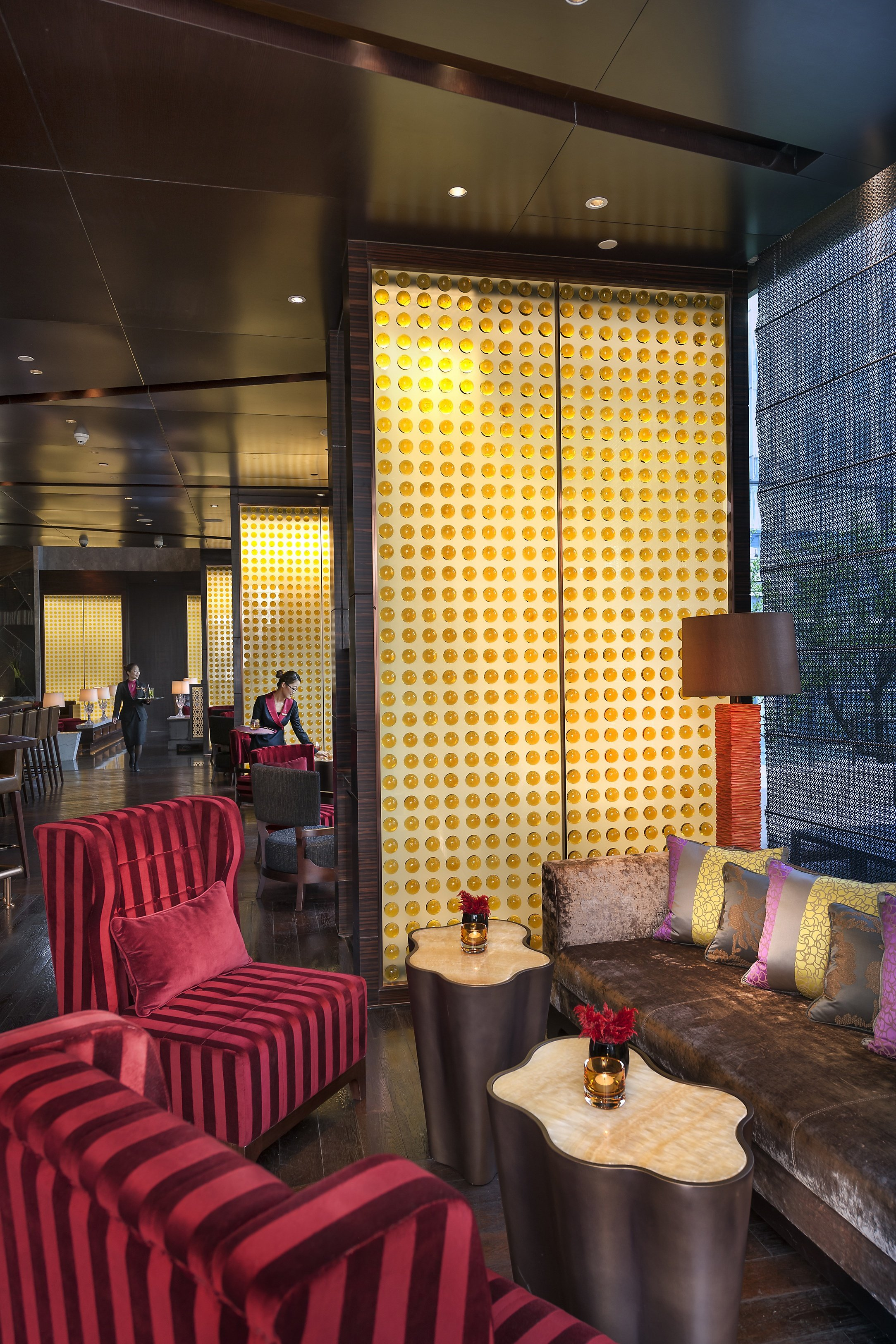 Fine dining at Mandarin Oriental Pudong, Shanghai at Qi Bar