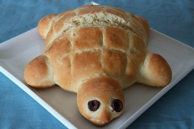 For Kids:  Turtle Bread Recipe