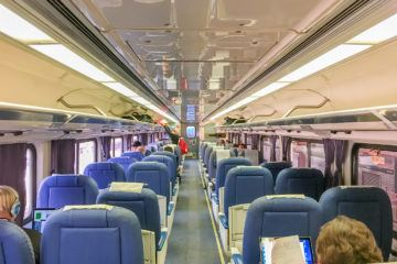 Amtrak business class on the Pacific Surfliner train is worth the upgrade. See why.