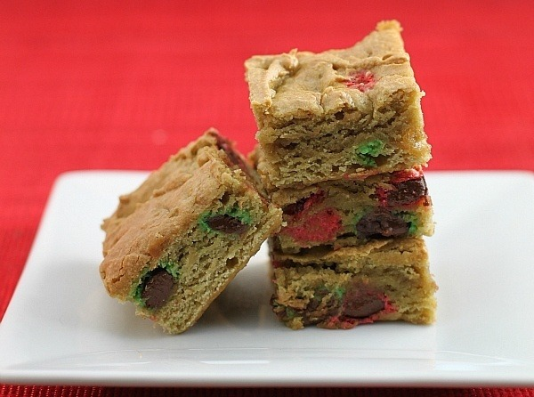 Recipe: M&M Blondies Baked With Avocado