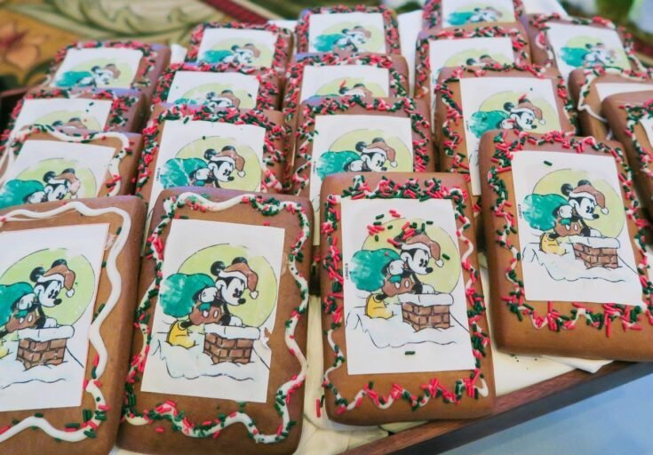 Recipe: Disneyland's Gingerbread Cookies