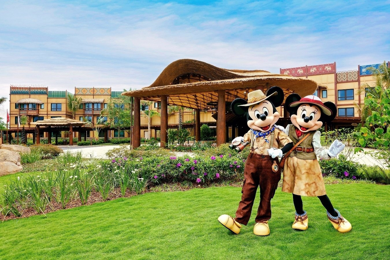 Disney Explorers Lodge is the newest Hong Kong Disneyland hotel.