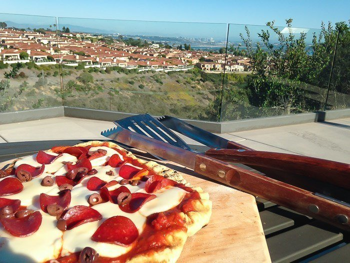 How to Grill Pizza on the Barbecue and a Barilla® Giveaway