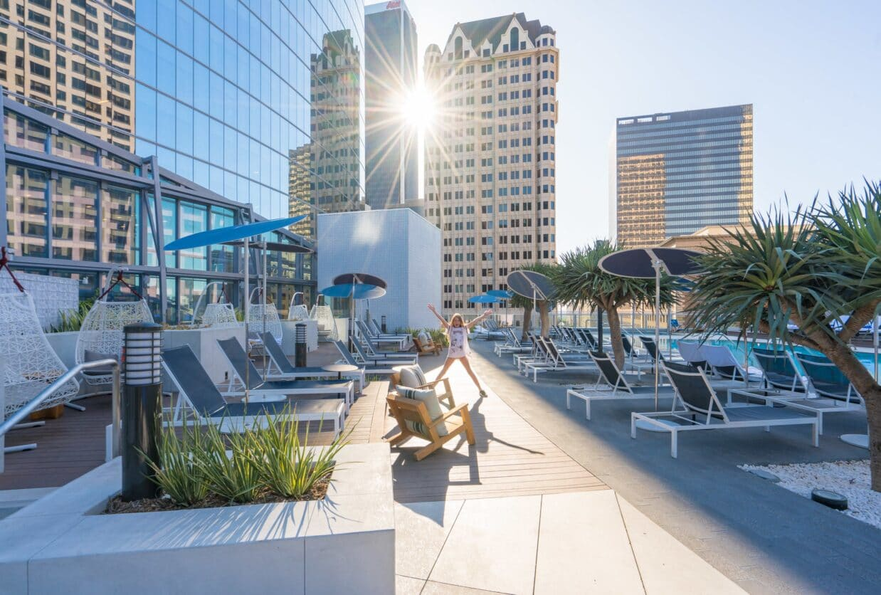 A glowing review of the new InterContinental Los Angeles Downtown luxury hotel.