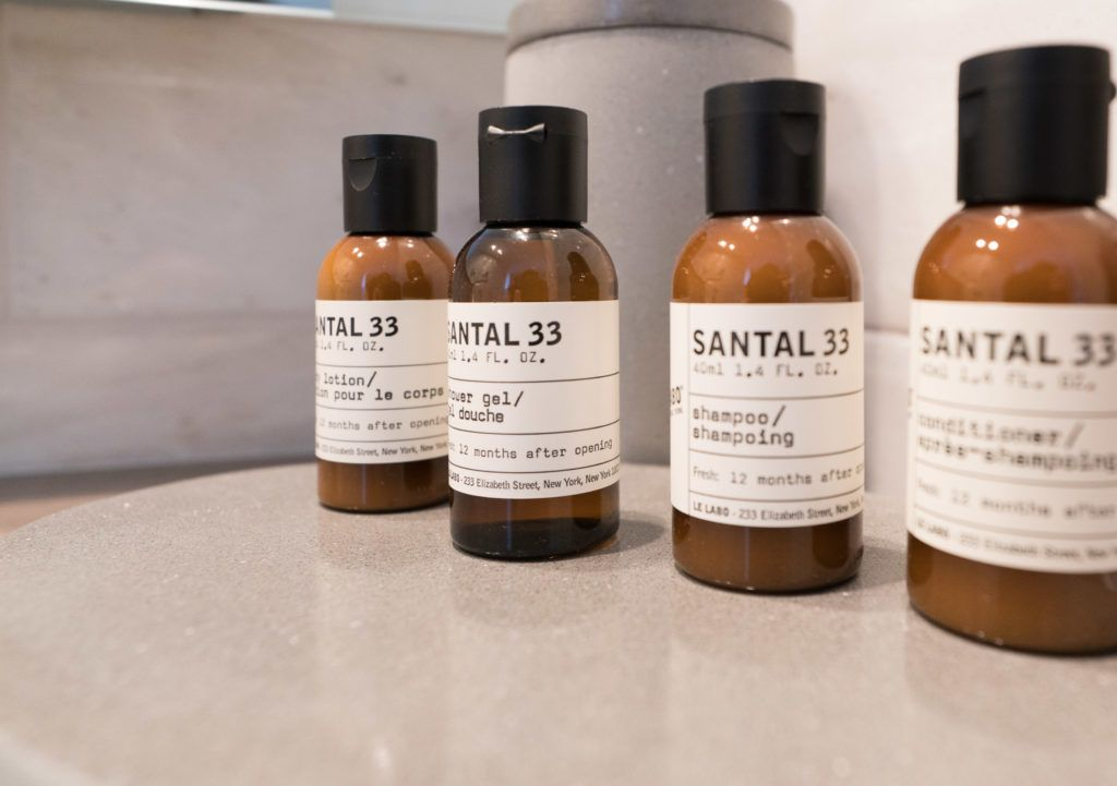 Le Labo bath amenities on a l