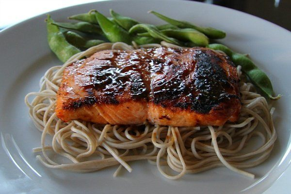 recipe easy salmon with brown sugar and mustard glaze