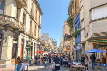 The San Telmo Fair happens every Sunday and is one of the best things to do in Buenos Aires.