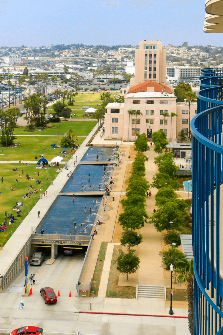 Waterfront Park is one of the best things to do in Downtown San Diego with kids.