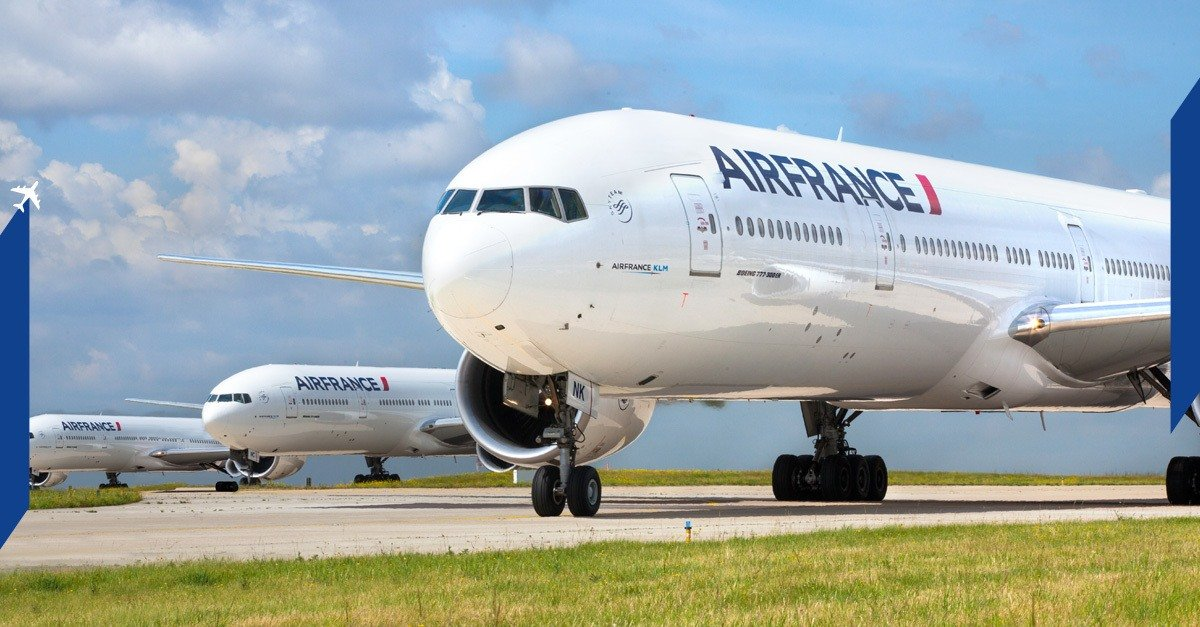 Air France flies to London daily from Paris and other destinations.
