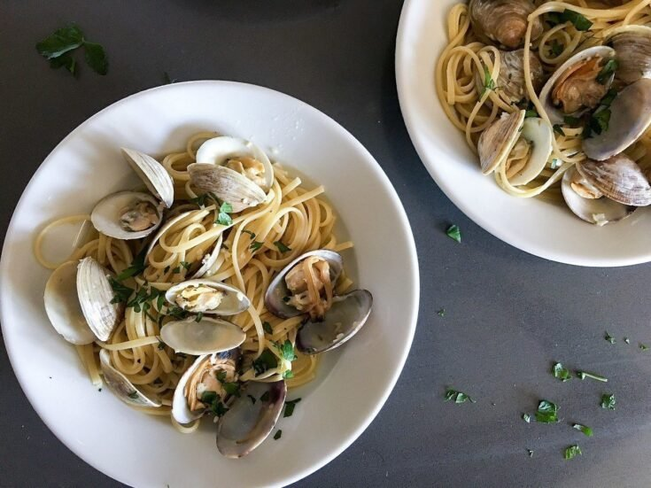 Linguine With Clams In Less Than 30 Minutes