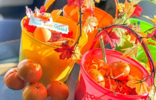 """Fun Fall Gifting for Kids – """"You've Been Gobbled"""""""