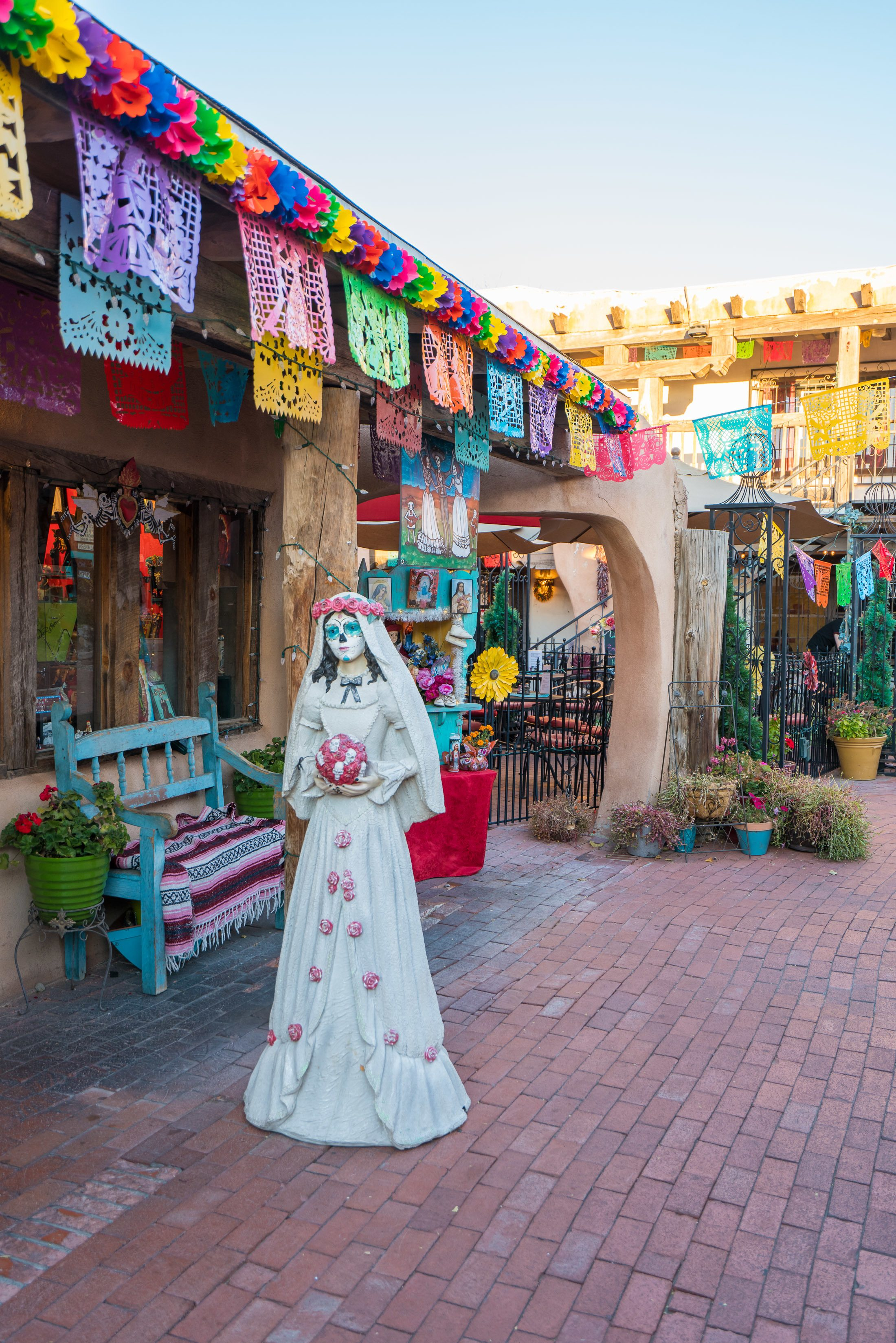One of the best things to do in Albuquerque is wander around Old Town.