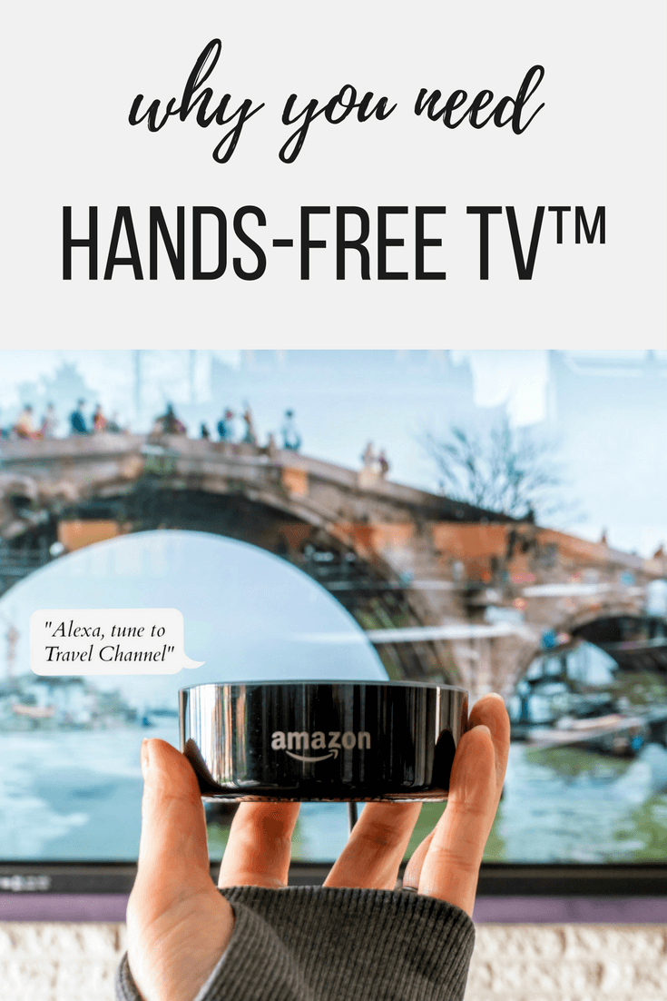 After years of indecision, we switched to DISH. Its Hands-Free TV™ made possible with Amazon Eco Dot is one of our favorite benefits.