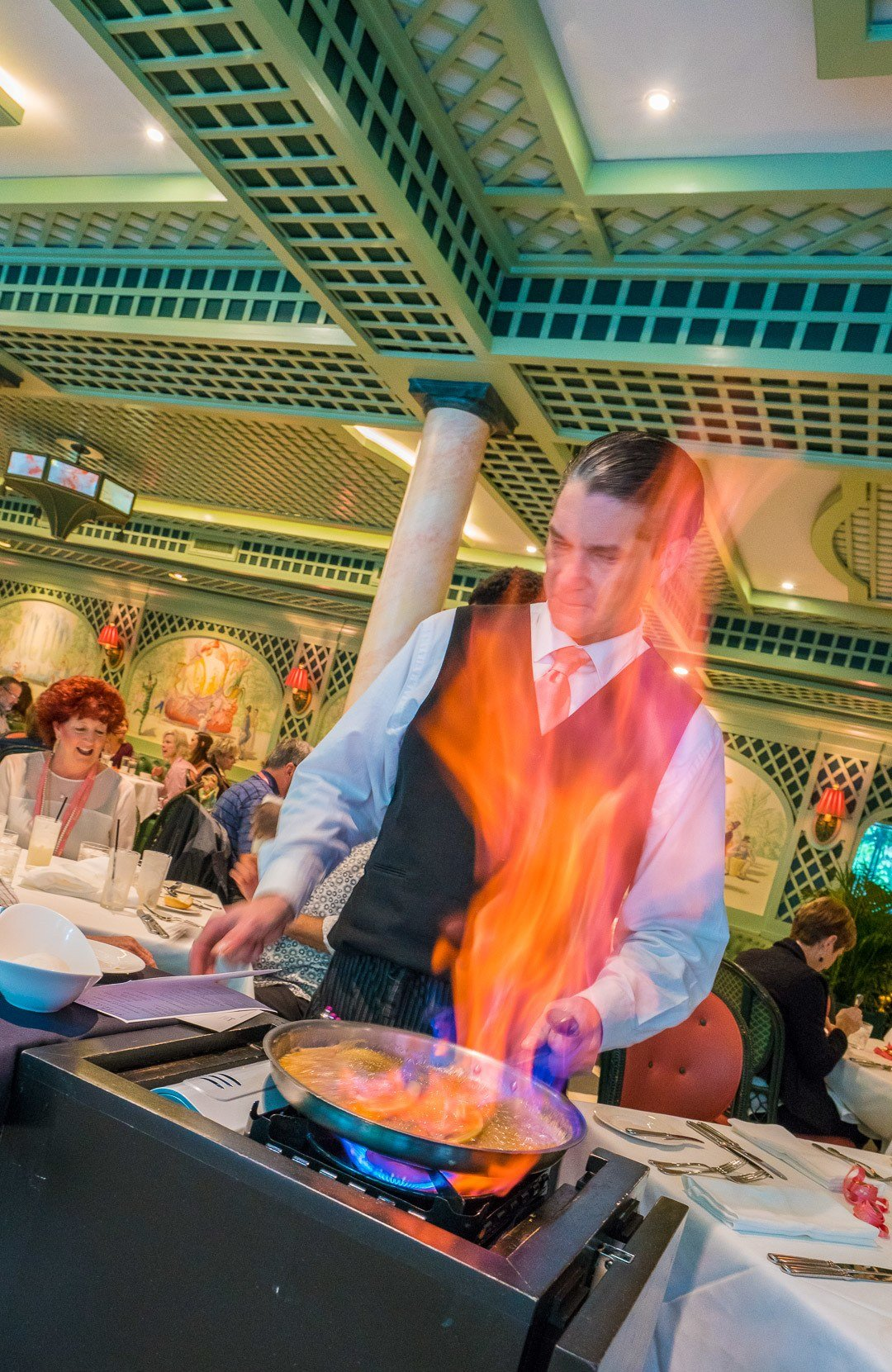 Bananas Foster was created at Brennan's restaurant in New Orleans.