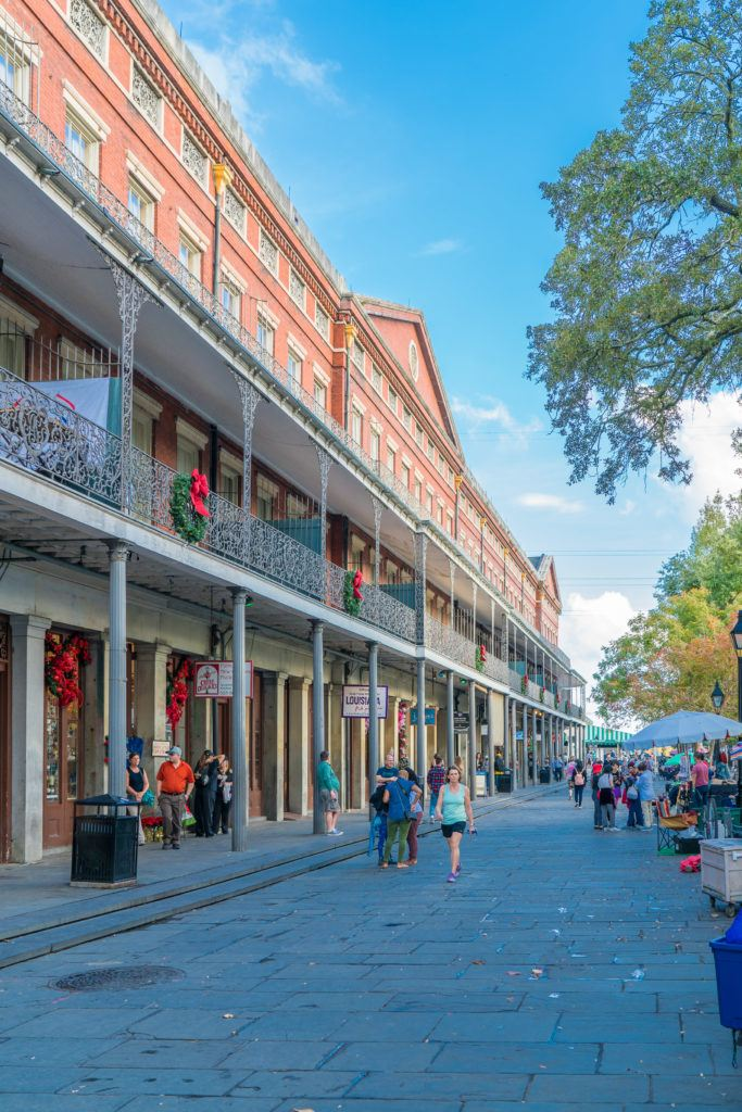 New Orleans best shops and restaurants are located in the French Quarter.