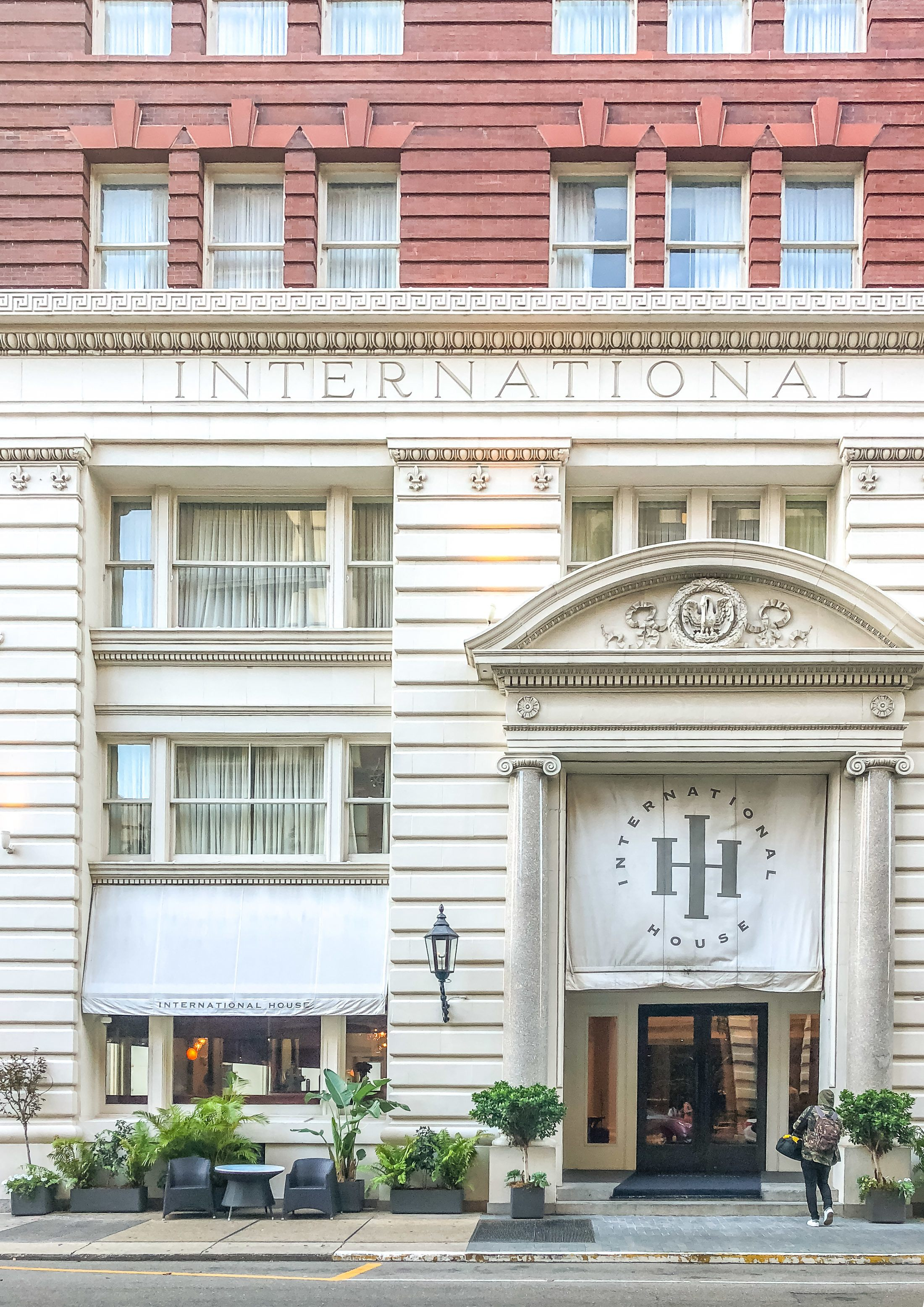 The international house new orleans review best new for Boutique hotel 3 lodz