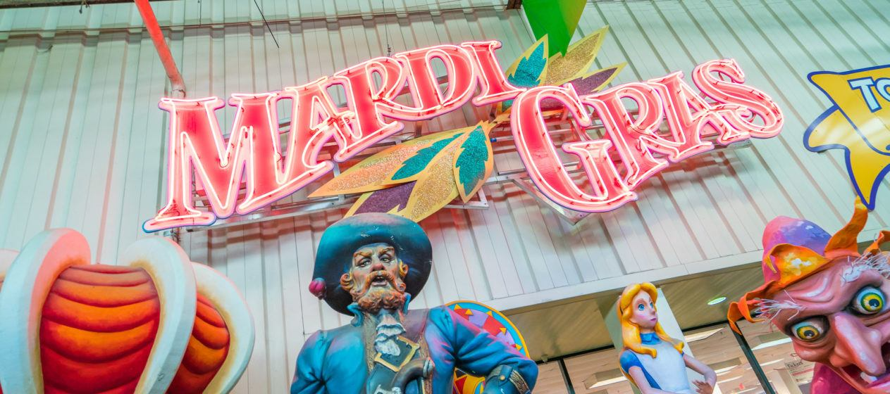 Find the best things to do in New Orleans, including Mardi Gras World.