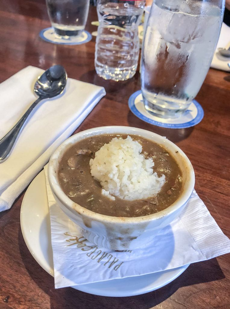 Gumbo during a Walking Food Tour New Orleans