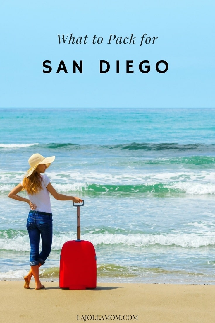 Find out what to pack for San Diego from clothes to helpful beach gear.