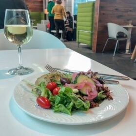 Review: The Centurion Lounge at DFW Airport