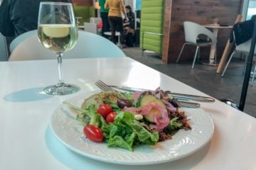 A review of the American Express Centurion Lounge DFW airport.