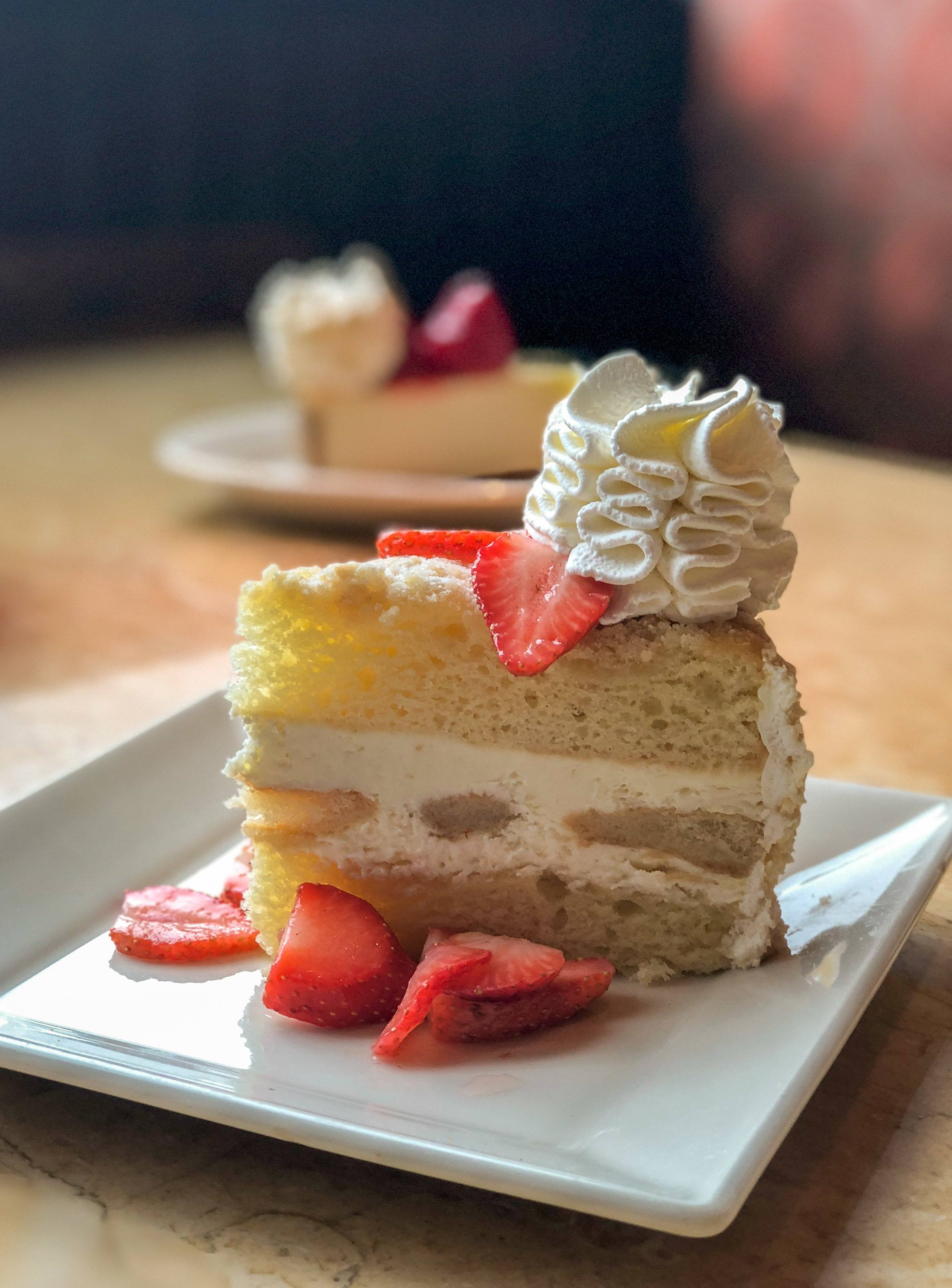 Lemoncello Cream Torte At The Cheesecake Factory