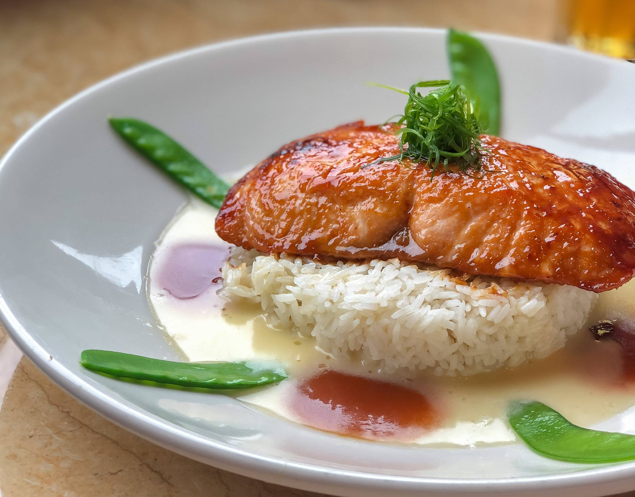 Miso Salmon from The Cheesecake Factory