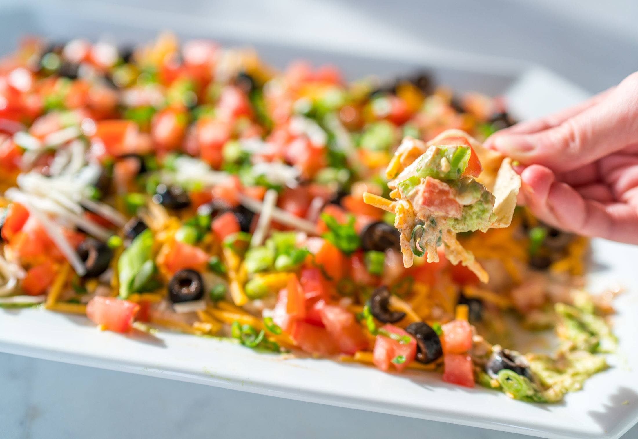 Easy 7 Layer Dip Recipe Party Recipes
