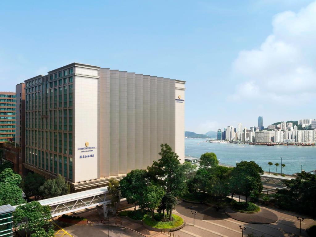 InterContinental Grand Stanford is located on Hong Kong's Victoria Harbour.