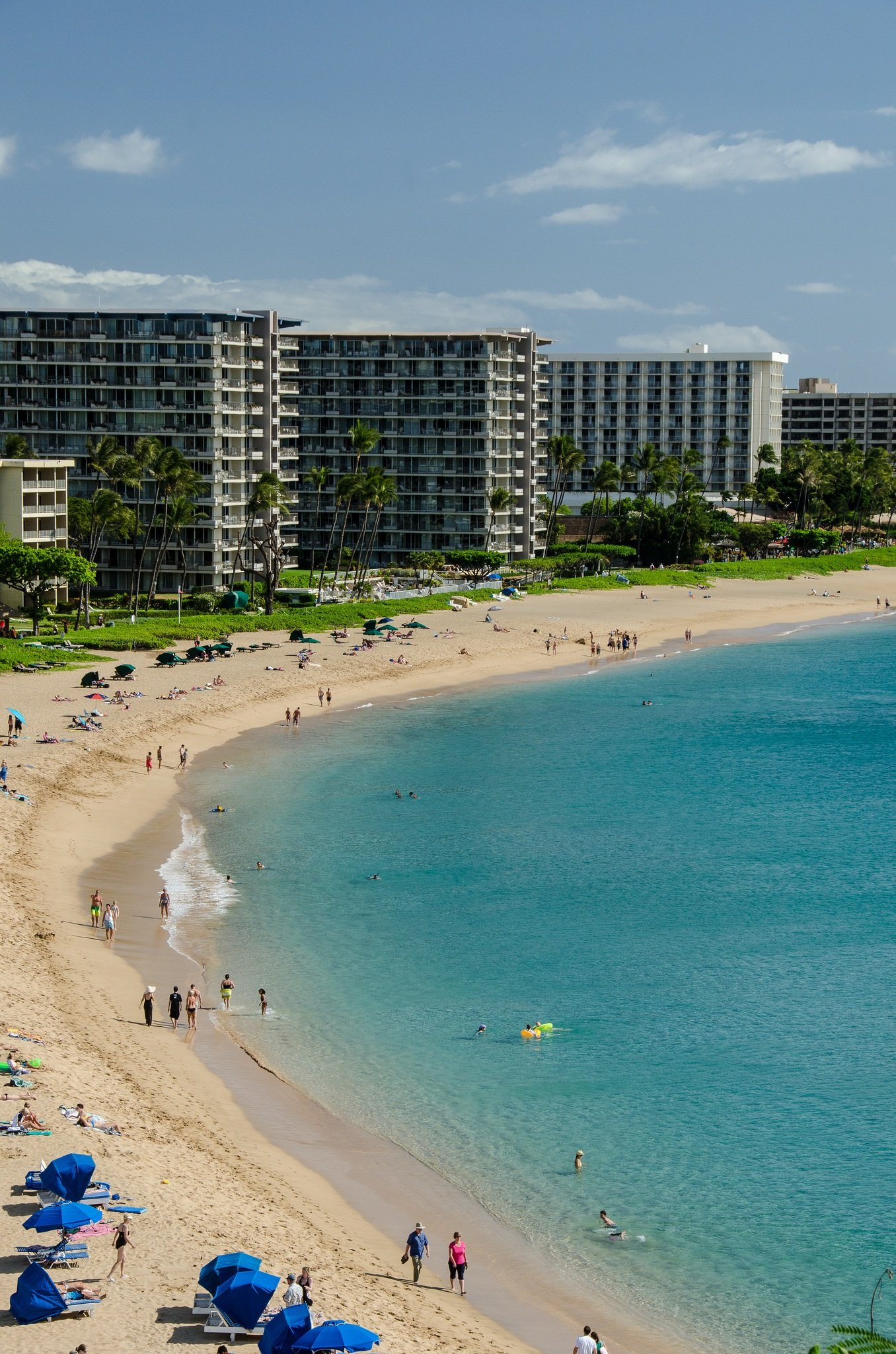 See why Kaanapali Beach in Maui is ideal for families.