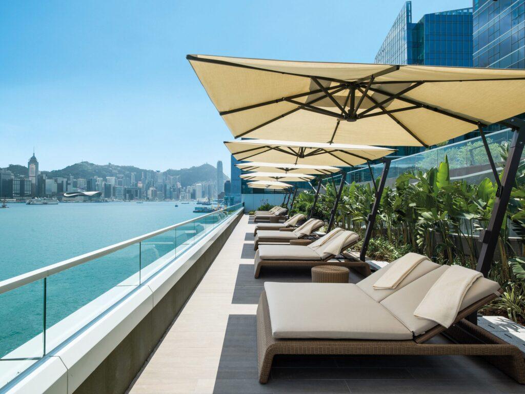 The best four Hong Kong four star hotel is Kerry Hotel Hong Kong.