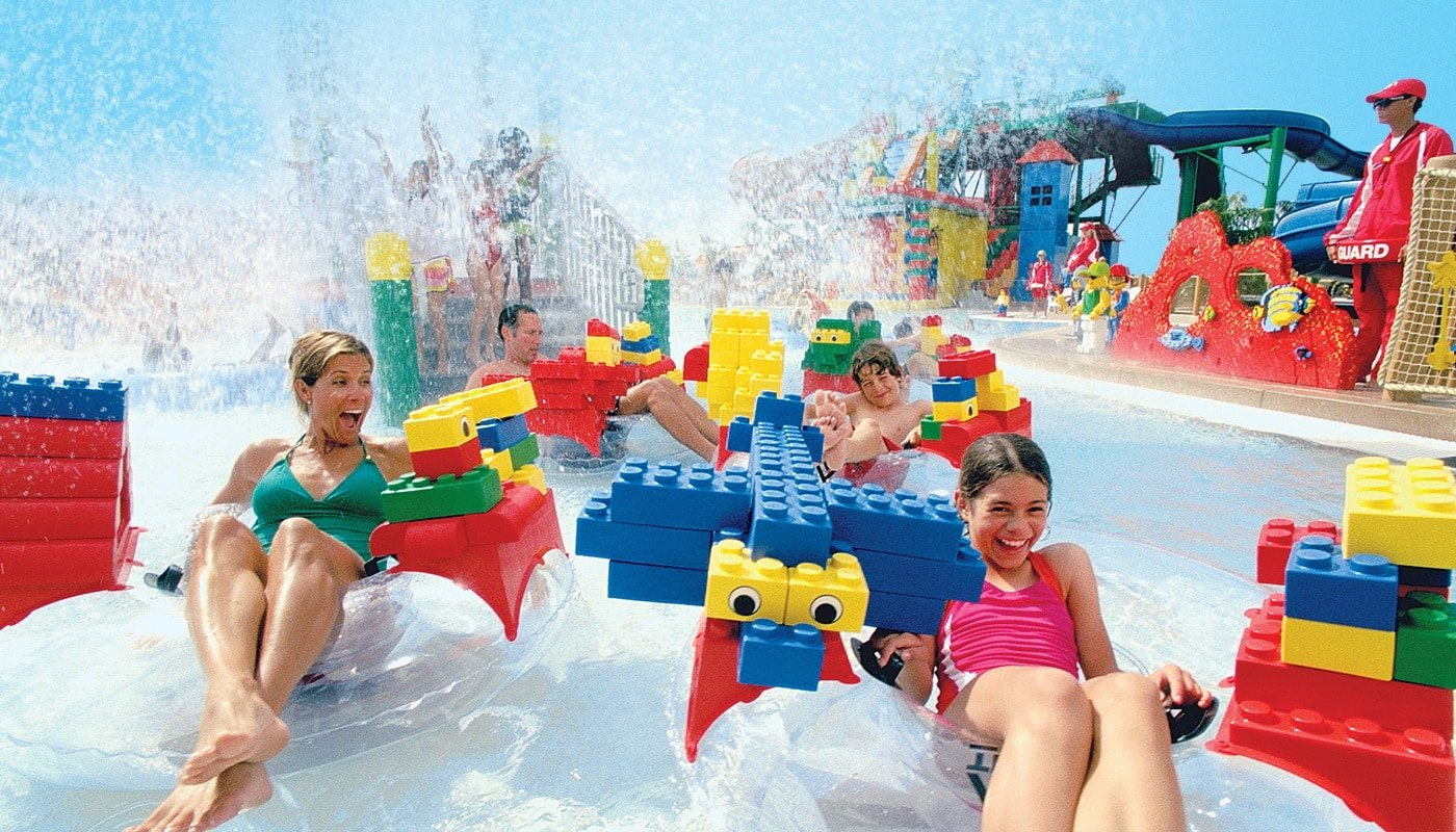 The LEGOLAND Water Park in California.
