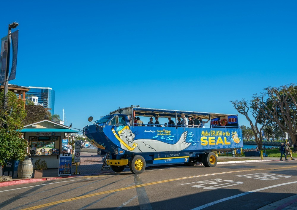 The SEAL tour is one of the most popular San Diego Bay tour.