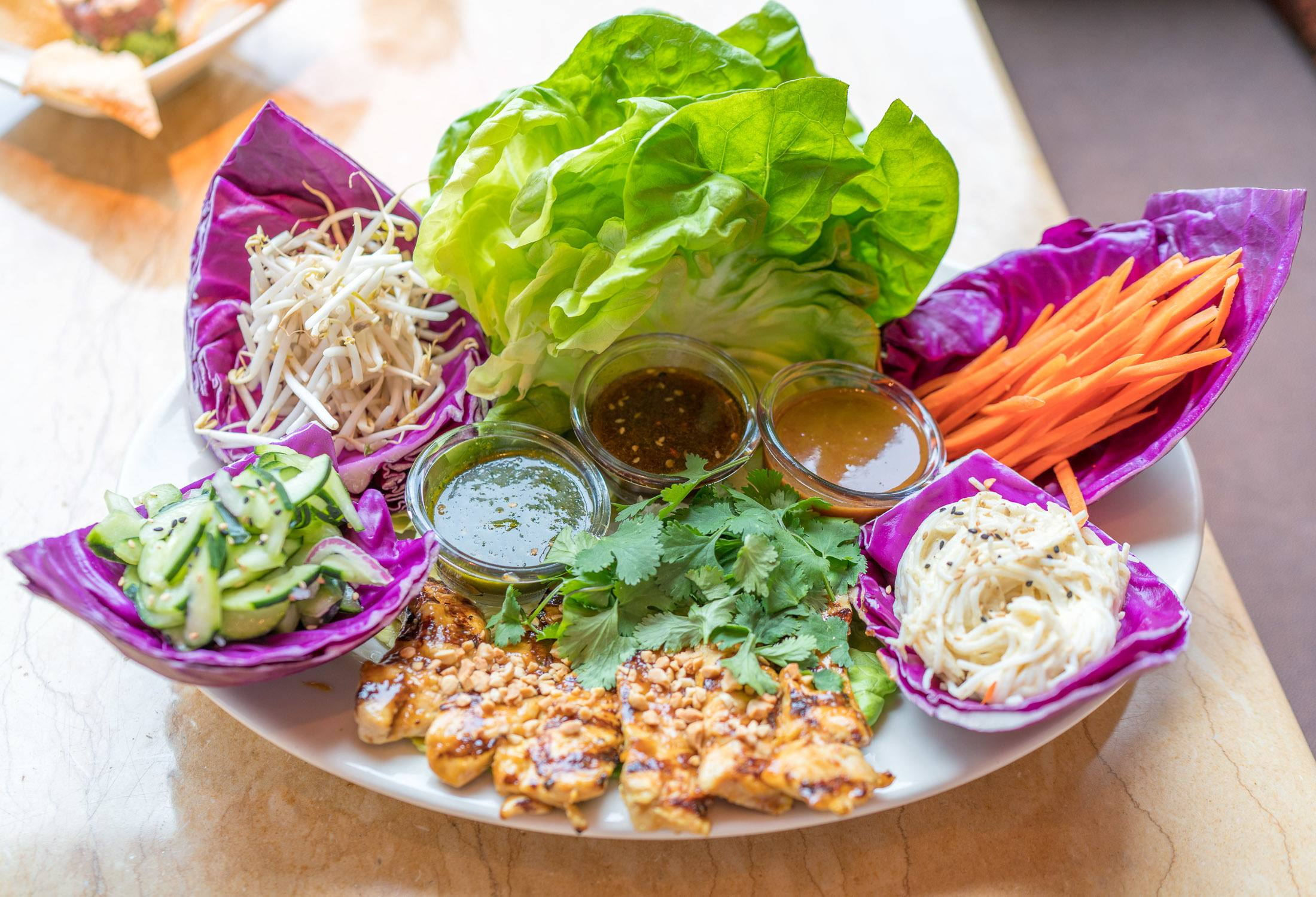 Thai Lettuce Wraps at The Cheesecake Factory