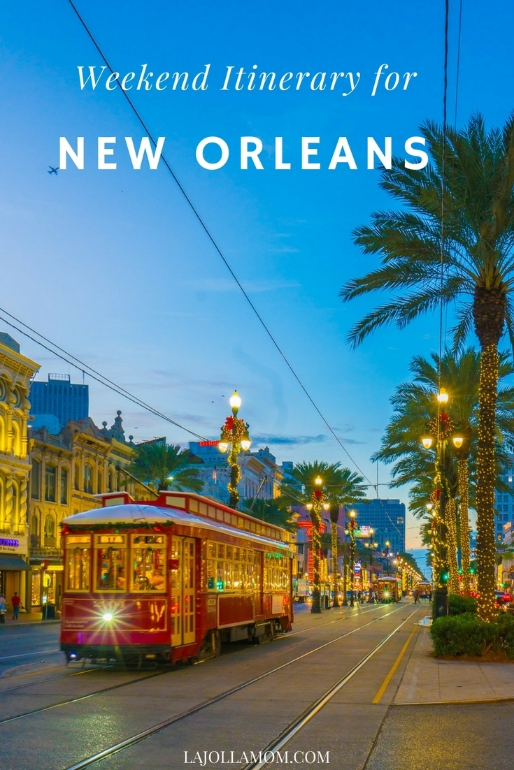 Find the best things to do in New Orleans over a long weekend.