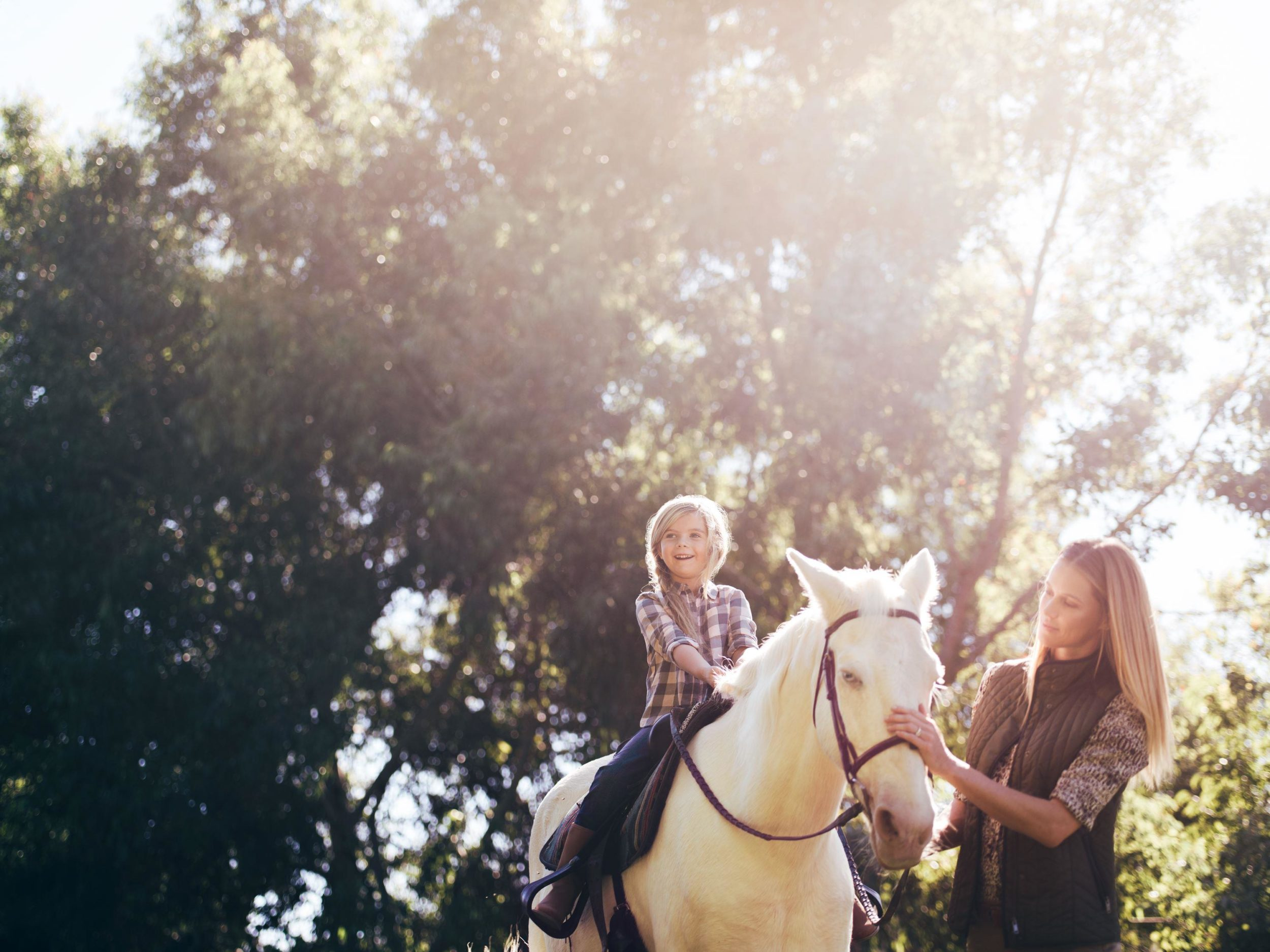 Fairmont Grand Del Mar San Diego has an onsite equestrian center that kids and adults love.