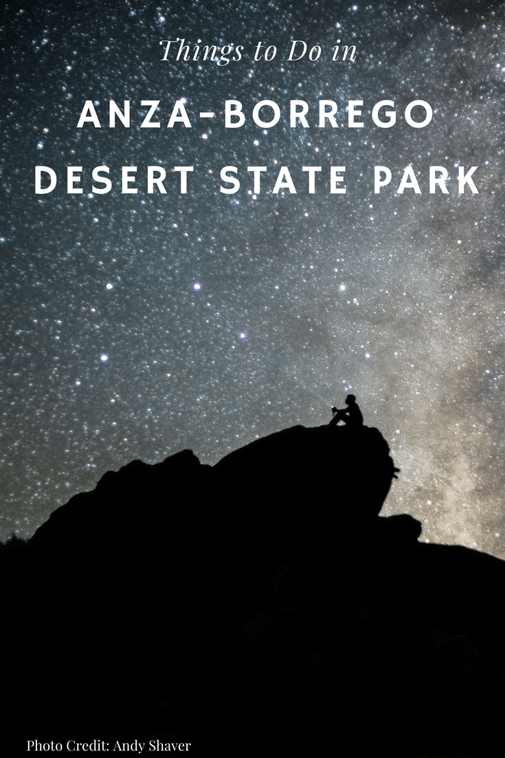 Stargazing, camping, hiking and other things to do in Anza-Borrego Desert State Park in California