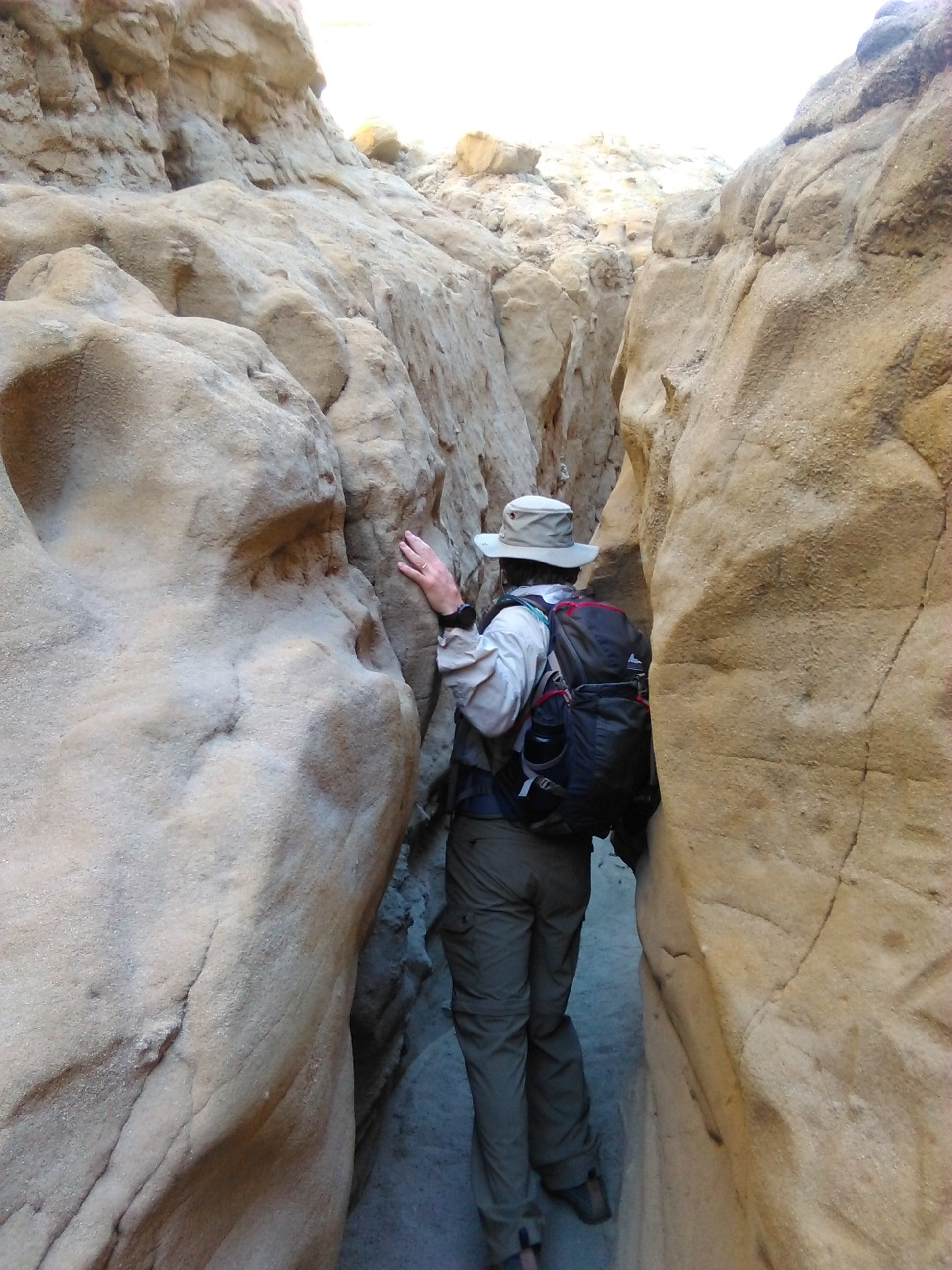 Hike The Slot at Anza-Borrego Desert State Park