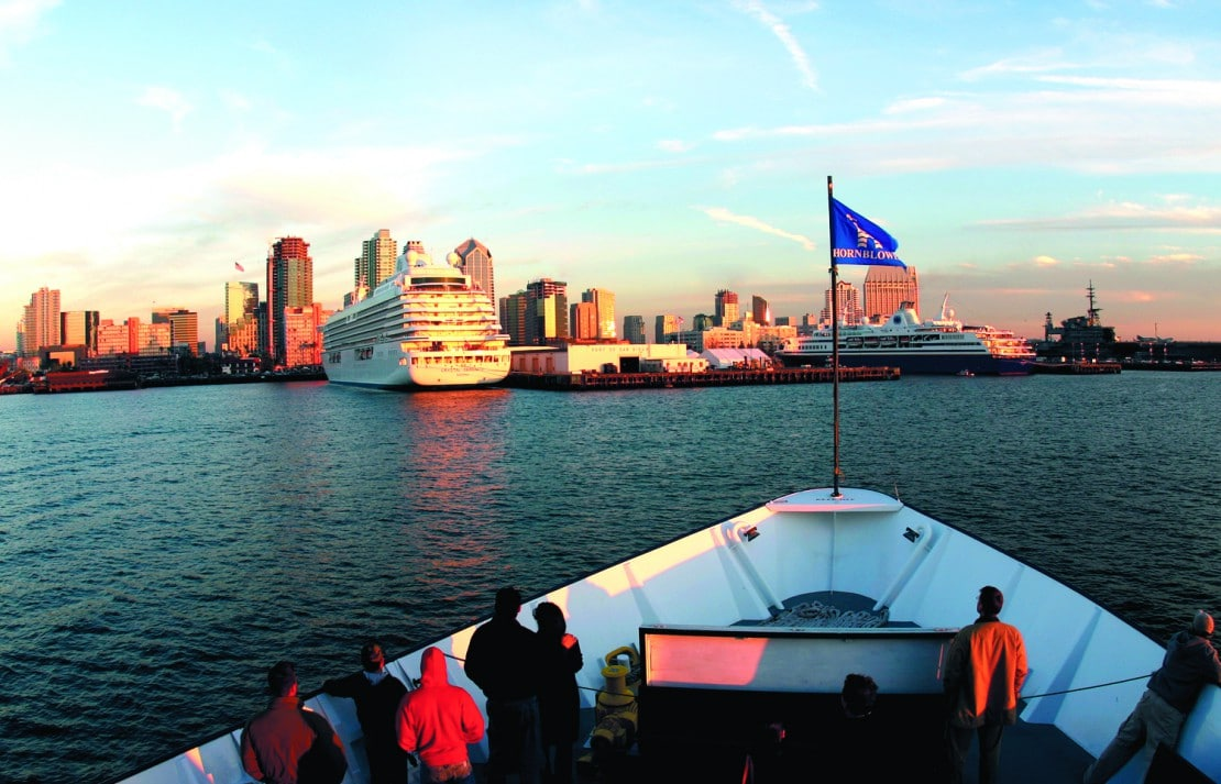Hornblower Cruises offer some of the best San Diego bay tours.