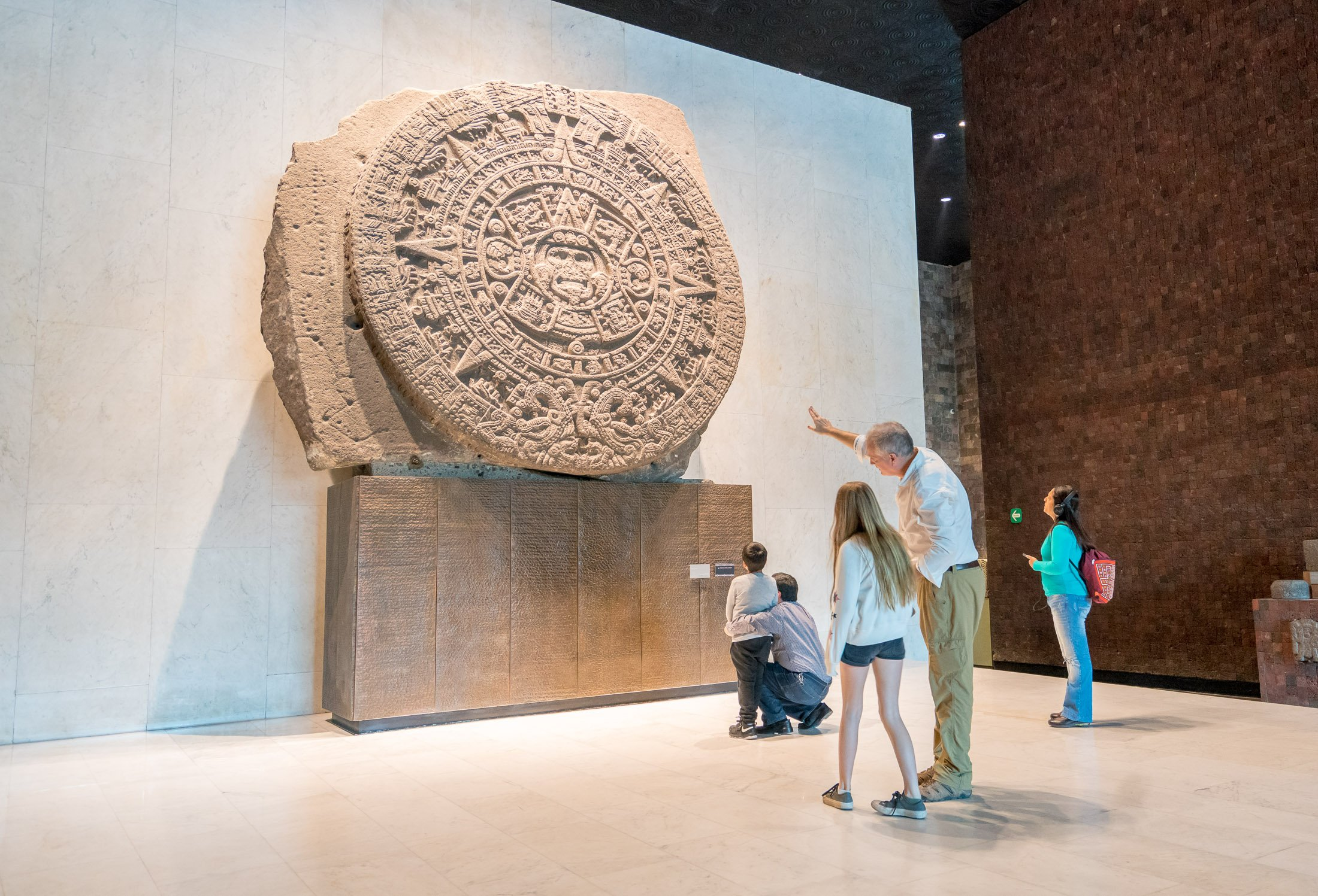 Piedra del Sol at National Museum of Anthropology, Mexico City