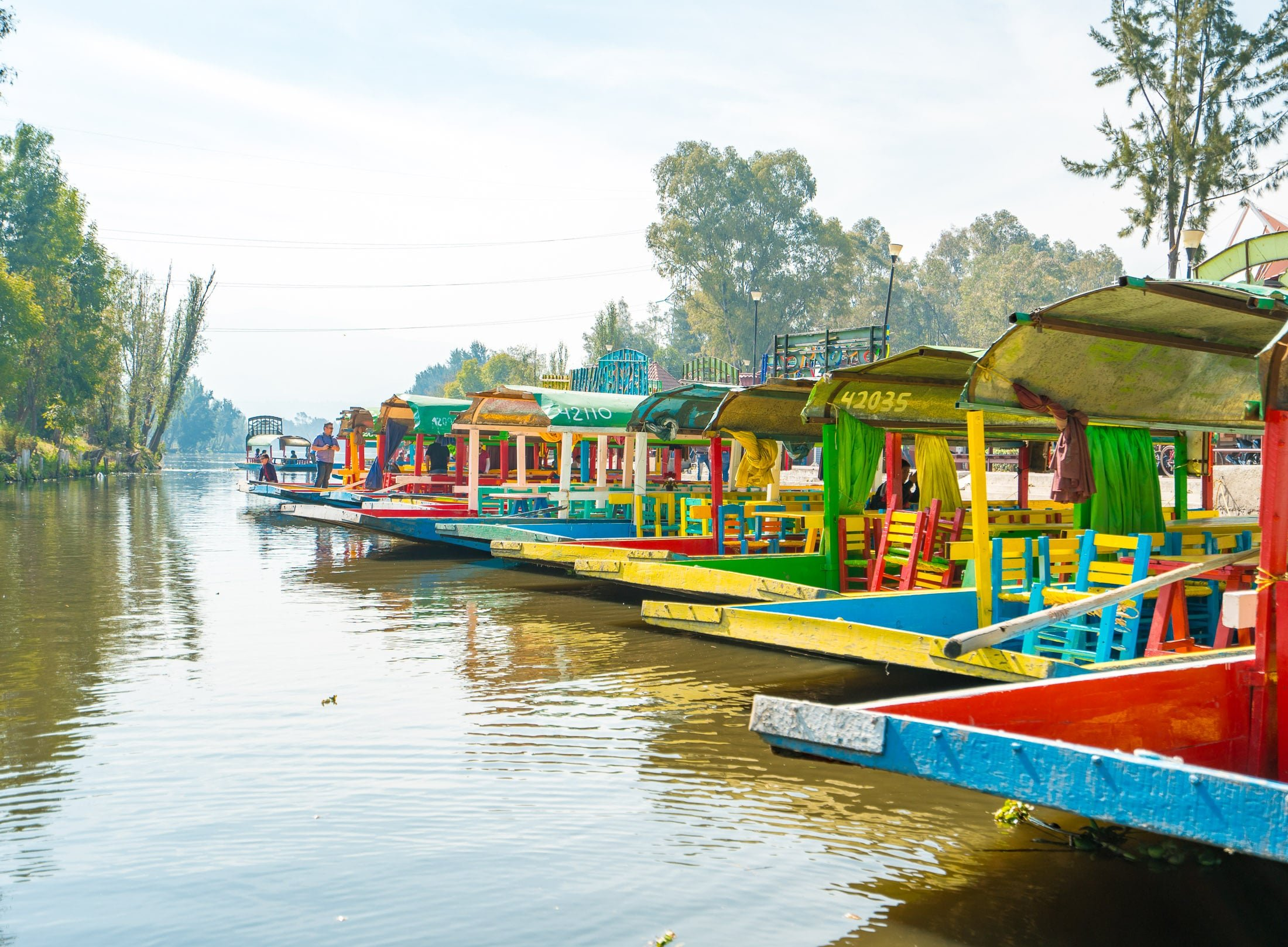 A Xochimilco boat ride is one of the best things to do in Mexico City