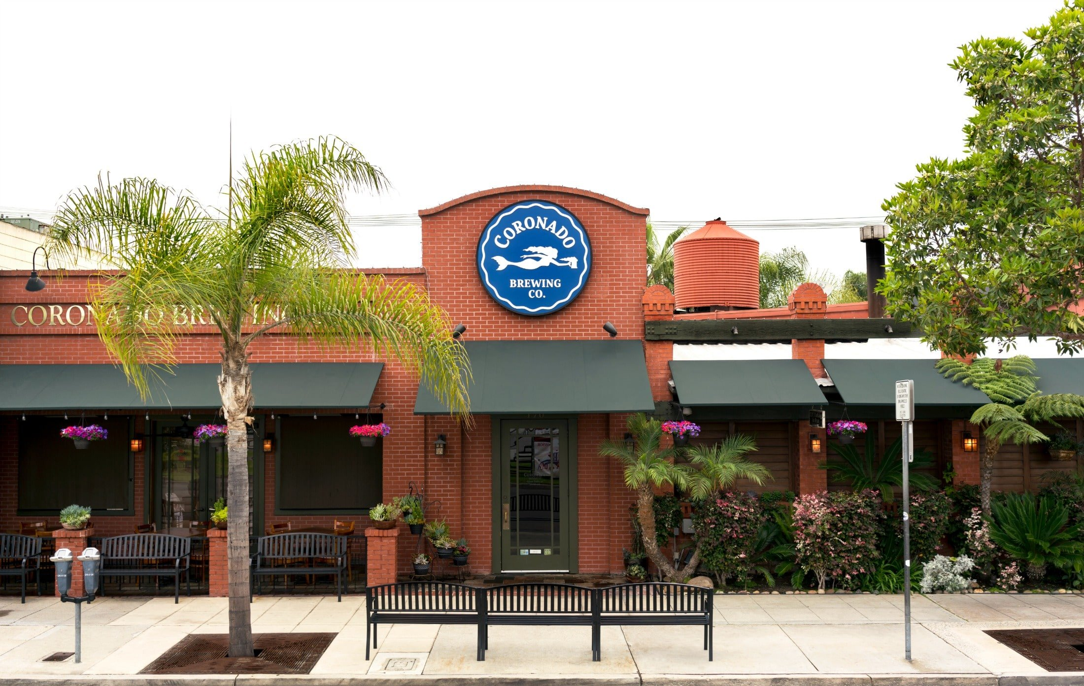 Coronado Brewing Co. offers beer and great food.