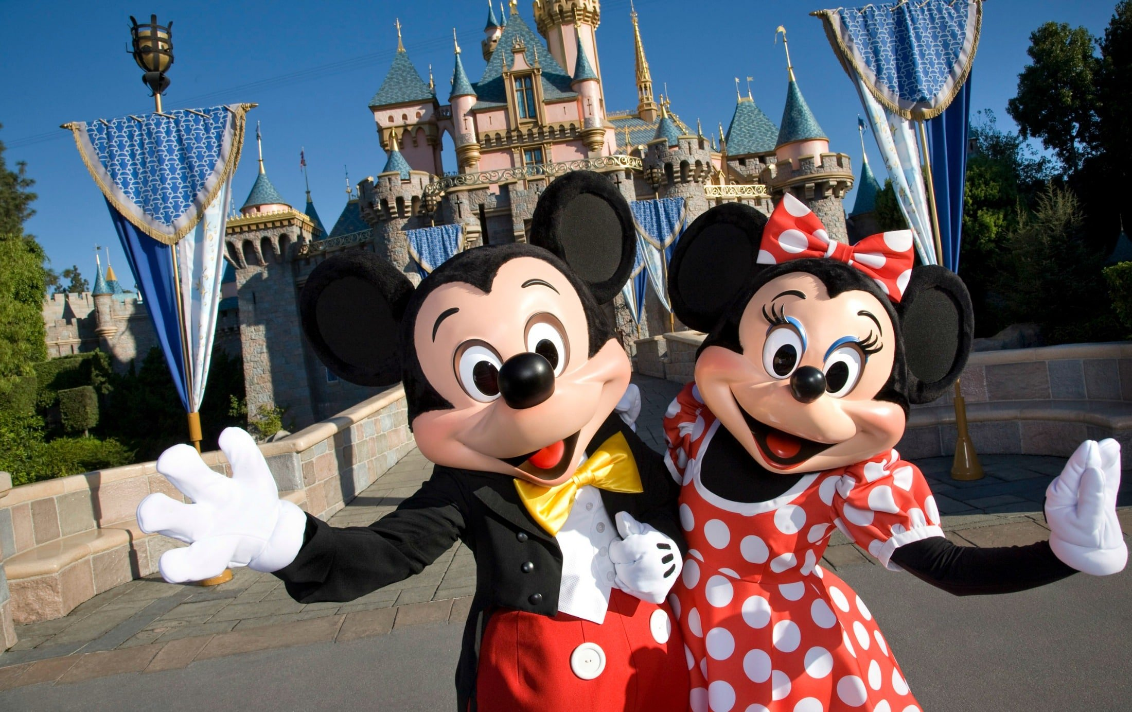 Disneyland by far the most popular family vacations in California