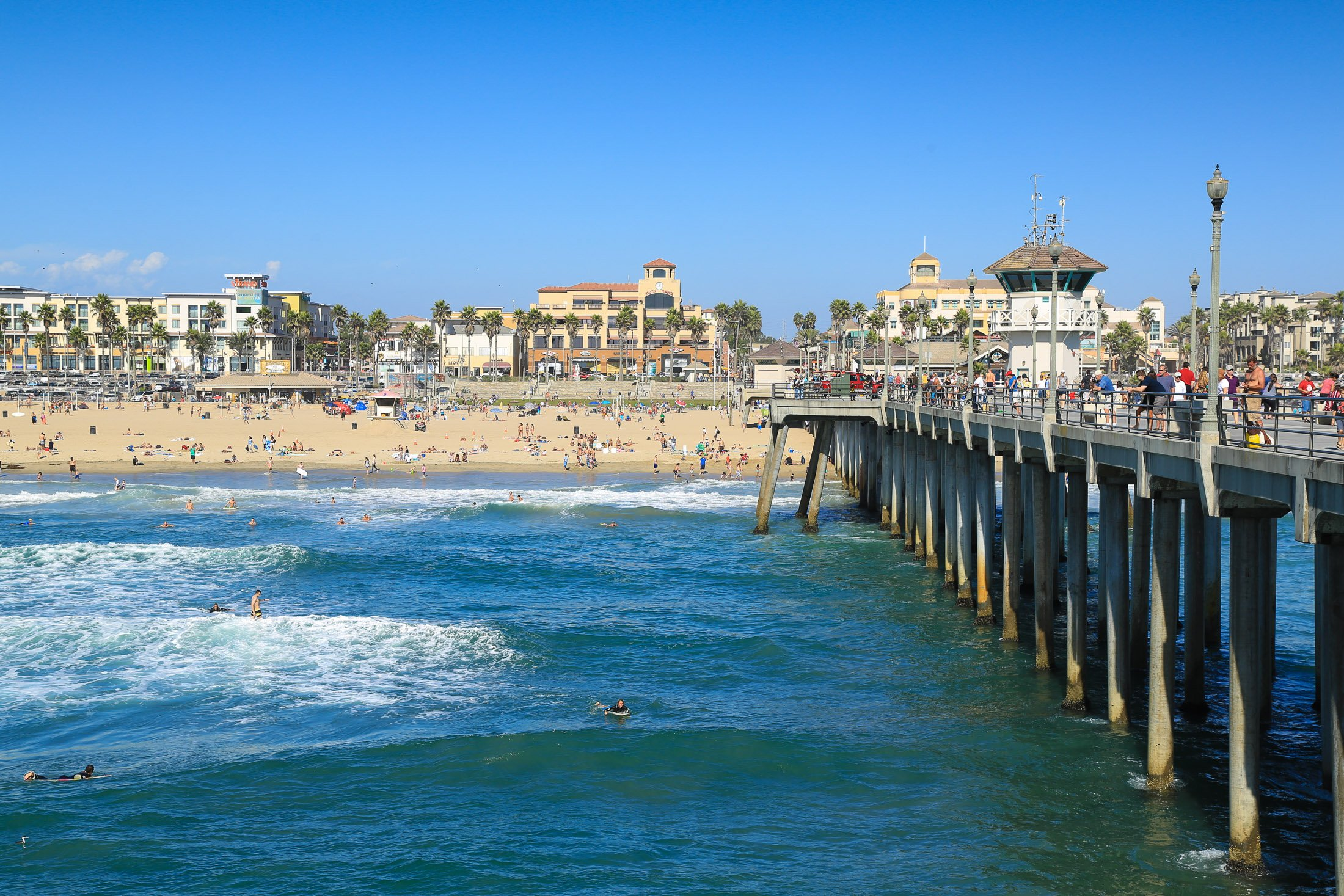 Huntington Beach is a fun family vacation in California